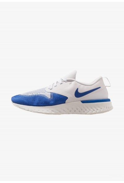Black Friday 2020 | Nike ODYSSEY REACT 2 FLYKNIT - Chaussures de running neutres vast grey/game royal/platinum tint/white liquidation
