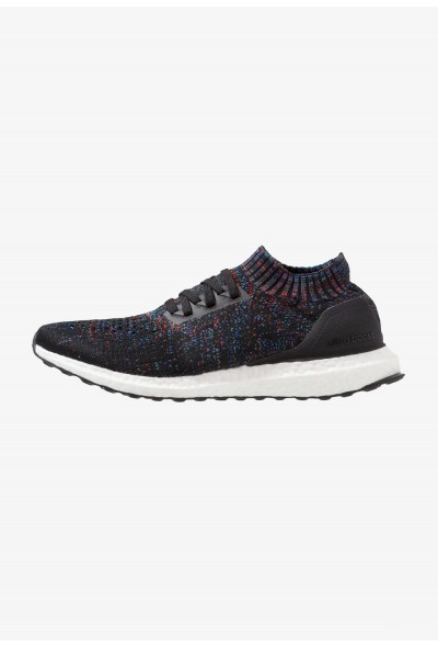 Adidas ULTRABOOST UNCAGED - Chaussures de running neutres clear black/active red/blue pas cher