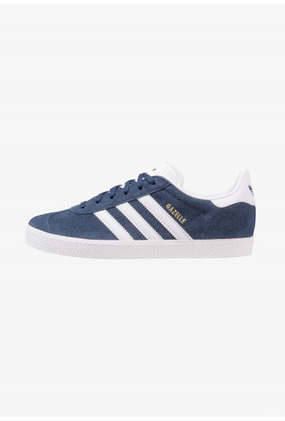 Adidas GAZELLE  - Baskets basses collegiate navy/footwear white pas cher