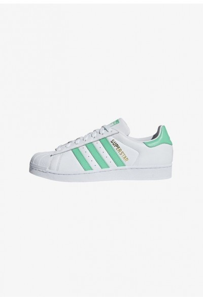 Adidas SST - Baskets basses white pas cher