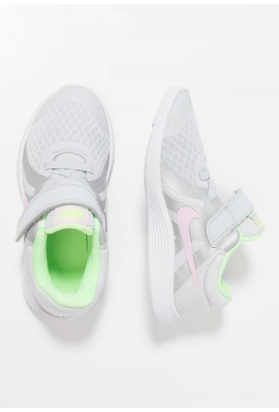 Black Friday 2020 | Nike REVOLUTION 4 - Chaussures de running neutres pure platinum/pink foam/platinum tint/lime blast liquidation