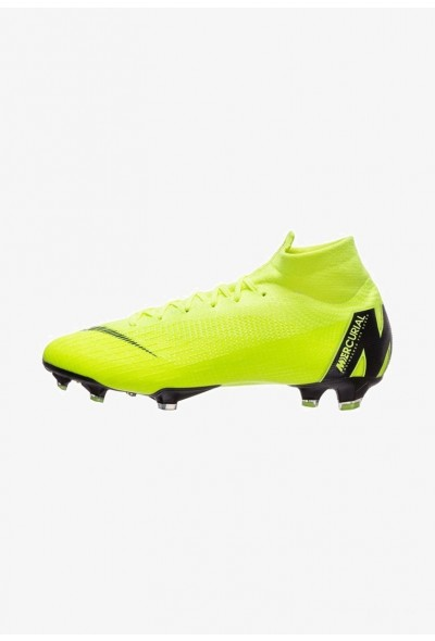 Black Friday 2020 | Nike MERCURIAL ELITE - Chaussures de foot à crampons volt/black liquidation