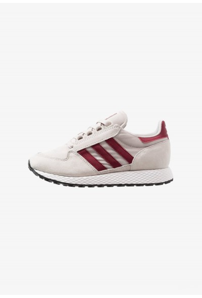 Black Friday 2021 Adidas FOREST GROVE - Baskets basses chalk pearl/footwear white/core black pas cher