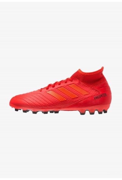 Adidas PREDATOR 19.3 AG - Chaussures de foot à crampons active red/solar red/core black pas cher