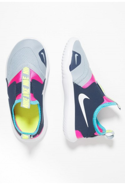 Black Friday 2020 | Nike FLEX RUNNER - Chaussures de running compétition obsidian mist/white/laser fuchsia liquidation