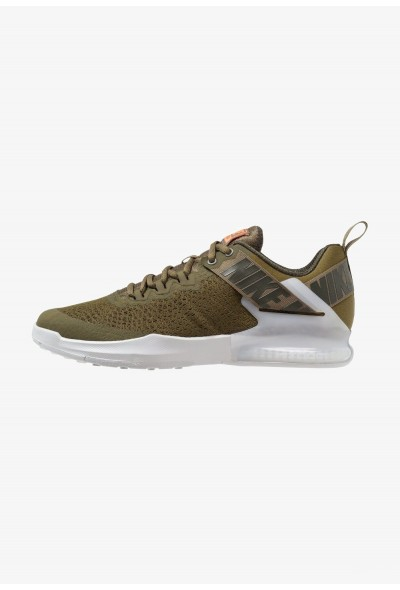 Nike ZOOM DOMINATION TR 2 - Chaussures d'entraînement et de fitness olive/sequoia/pure platinum/olive flak/total orange liquidation