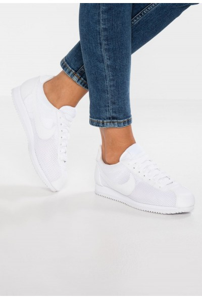 Black Friday 2020 | Nike CLASSIC CORTEZ PRM - Baskets basses white liquidation