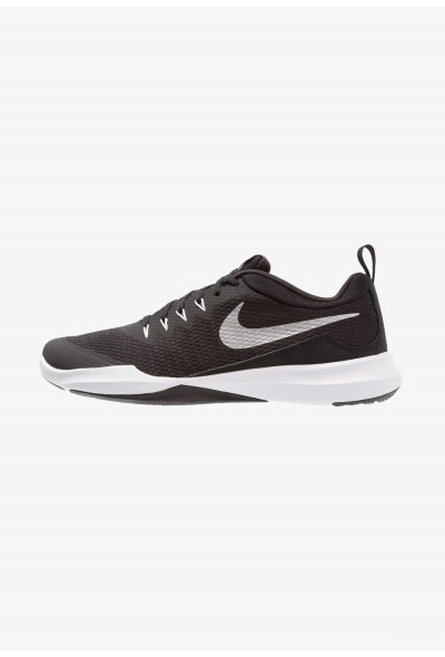 Black Friday 2019 | Nike LEGEND TRAINER - Chaussures d'entraînement et de fitness black/metallic silver/white liquidation