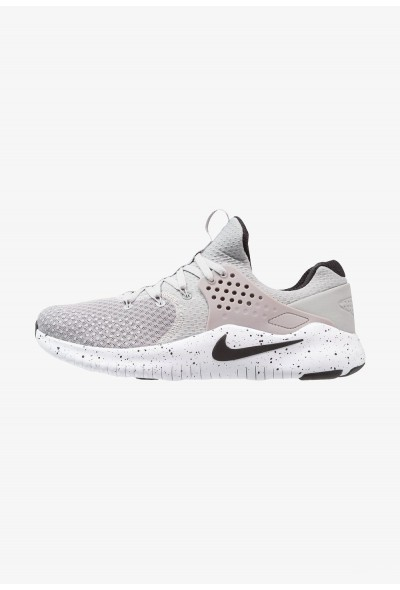 Black Friday 2020 | Nike FREE TRAINER V8 - Chaussures d'entraînement et de fitness matte silver/black/white liquidation