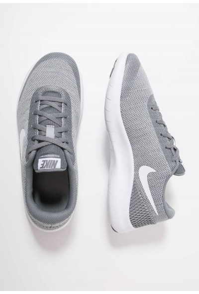 Nike FLEX EXPERIENCE RN 7 - Chaussures de running compétition wolf grey/white/cool grey liquidation