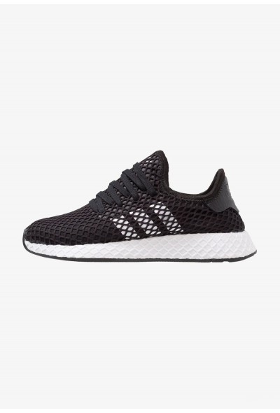 Adidas DEERUPT RUNNER - Baskets basses core balck/footwear white pas cher