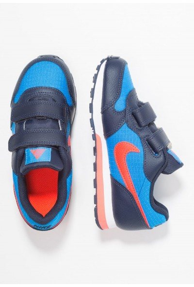 Nike MD RUNNER 2 - Baskets basses photo blue/bright crimson/obsidian/white liquidation