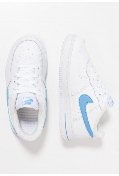 Black Friday 2020 | Nike FORCE 1-3 - Chaussures premiers pas white/university blue liquidation