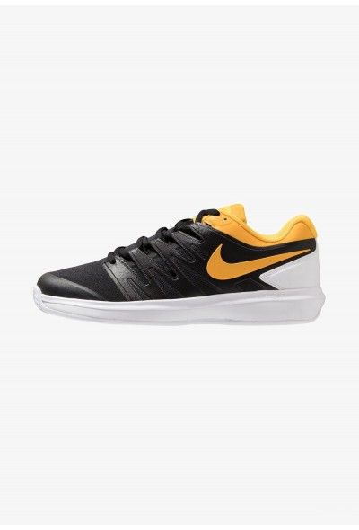 Nike AIR ZOOM PRESTIGE CLY - Chaussures de tennis sur terre battue black/universe gold/white liquidation