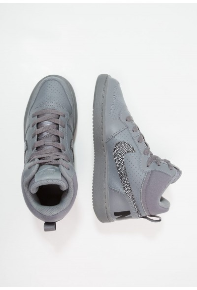Black Friday 2020 | Nike COURT BOROUGH MID - Baskets montantes cool grey/black liquidation
