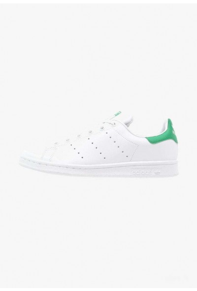 Adidas STAN SMITH - Baskets basses white/green pas cher