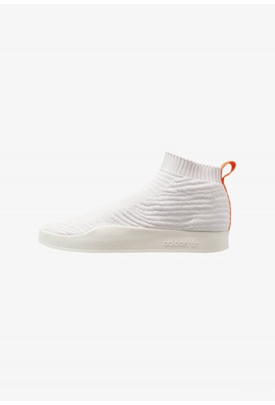 Adidas ADILETTE PK SOCK SUMMER - Baskets montantes white tint/crystal white/grey one pas cher