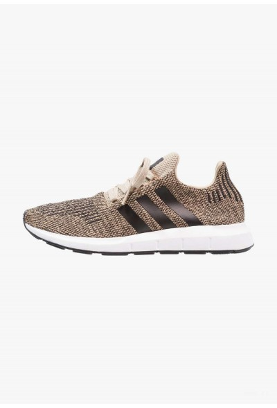 Cadeaux De Noël 2019 Adidas SWIFT RUN - Baskets basses raw gold/core black/footwear white pas cher