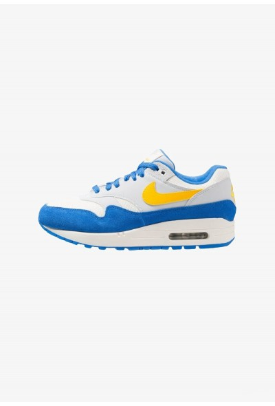 Nike AIR MAX 1 - Baskets basses sail/amarillo/pure platinum/signal blue liquidation