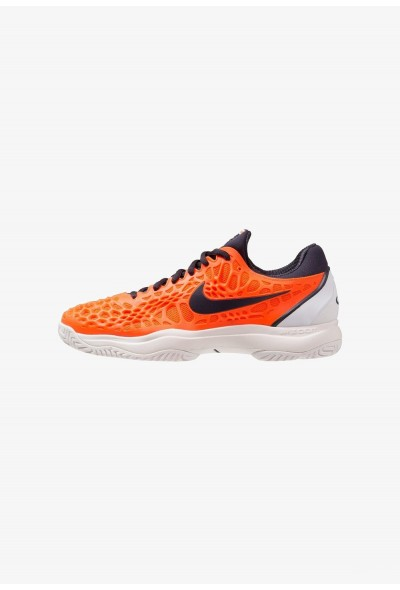 Black Friday 2020 | Nike AIR ZOOM CAGE 3 HC - Chaussures de tennis sur terre battue hyper crimson/gridiron/white/phantom liquidation