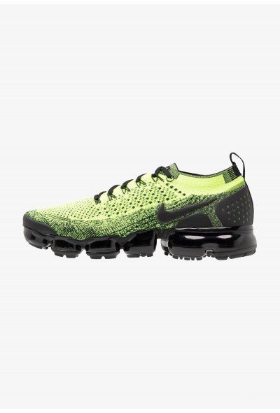 Nike AIR VAPORMAX FLYKNIT - Chaussures de running neutres volt/black liquidation