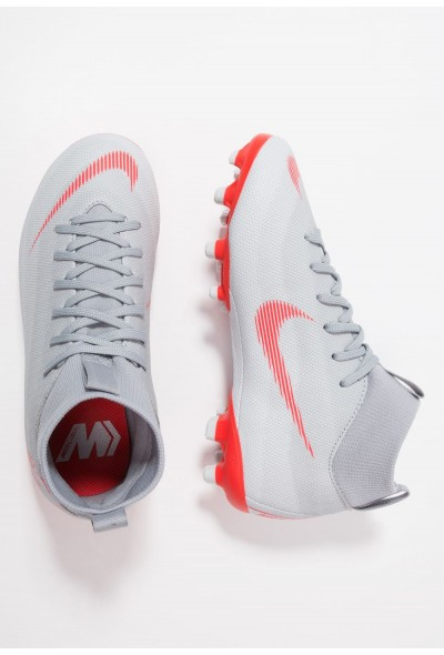 Black Friday 2020 | Nike MERCURIAL 6 ACADEMY MG - Chaussures de foot à crampons wolf grey/light crimson/pure platinum/metallic silver liquidation