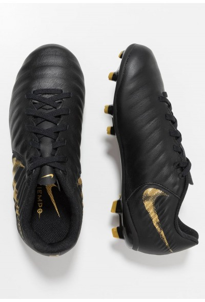 Black Friday 2020 | Nike TIEMPO LEGEND 7 ACADEMY MG - Chaussures de foot à crampons black/metallic vivid gold liquidation