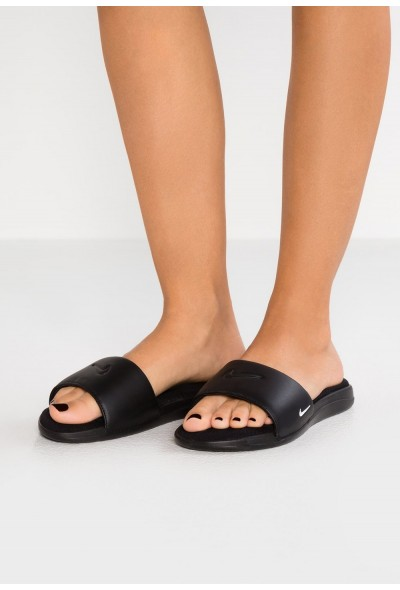 Nike ULTRA COMFORT3 SLIDE - Mules black/white liquidation