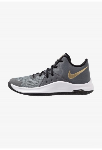 Nike AIR VERSITILE III - Chaussures de basket black/metallic gold/dark grey/white liquidation
