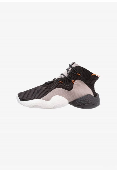 Adidas CRAZY BYW - Baskets montantes core black/orange/hires red pas cher