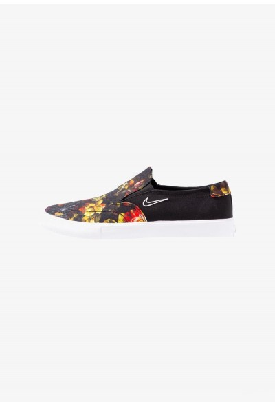 Nike PORTMORE - Mocassins black/white/multicolor liquidation