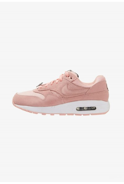 Nike AIR MAX 1 DAY  - Baskets basses bleached coral/black/white liquidation