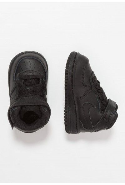 Nike NIKE FORCE 1 MID (TD) - Baskets montantes black liquidation