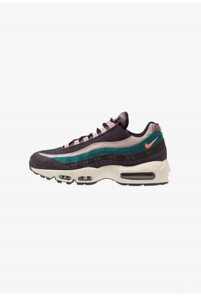Nike AIR MAX 95 PRM - Baskets basses oil grey/bright mango/thunder grey/rainforest/diffused taupe/smokey mauve liquidation
