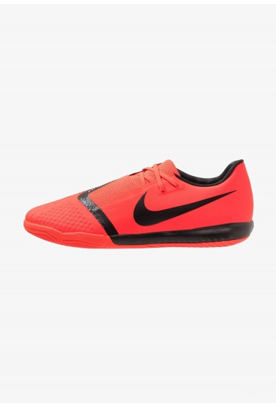 Nike PHANTOM ACADEMY IC - Chaussures de foot en salle bright crimson/black/metallic silver liquidation