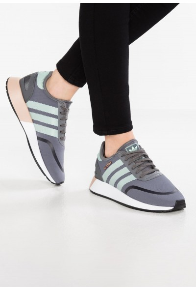 Adidas N-5923 - Baskets basses grey four/ash green/footwear white pas cher
