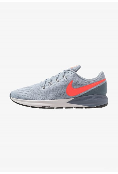 Nike AIR ZOOM STRUCTURE  - Chaussures de running stables obsidian mist/bright crimson/armory blue liquidation