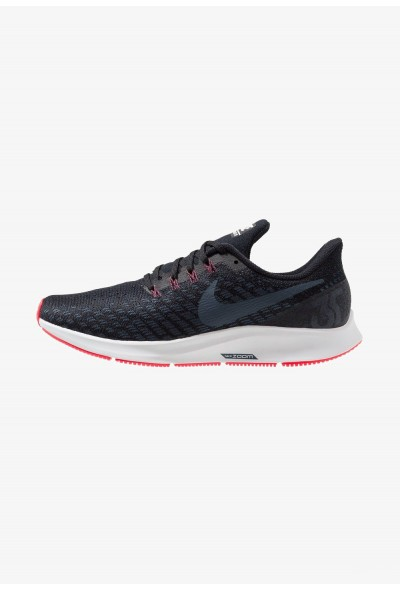 Nike AIR ZOOM PEGASUS 35 - Chaussures de running neutres black/armory navy/platinum tint/red orbit liquidation