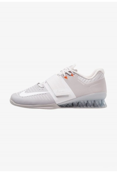 Black Friday 2020 | Nike ROMALEOS 3 - Chaussures d'entraînement et de fitness atmosphere grey/white/vast grey/hyper crimson liquidation
