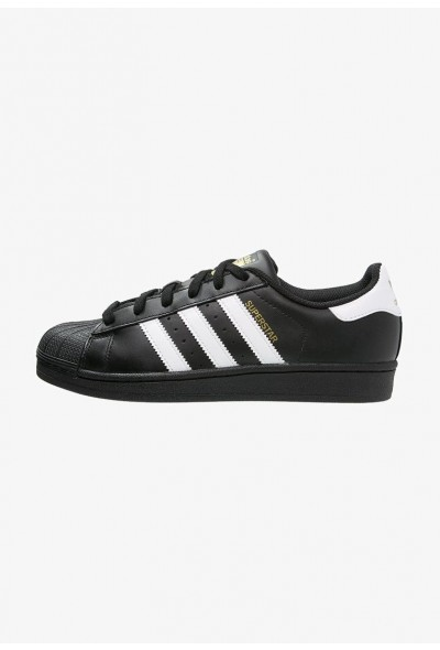 Black Friday 2020 | Adidas SUPERSTAR FOUNDATION - Baskets basses noir / blanc pas cher