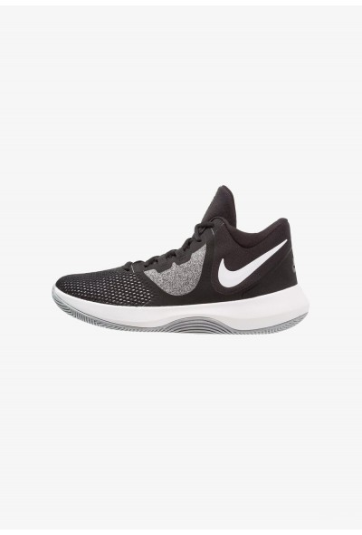 Nike AIR PRECISION II - Chaussures de basket black/white liquidation