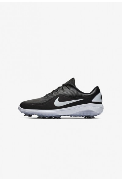 Nike REACT VAPOR  - Chaussures de golf black/white/metallic white liquidation