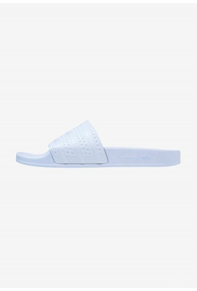 Black Friday 2019 | Adidas ADILETTE - Sandales de bain easy blue pas cher