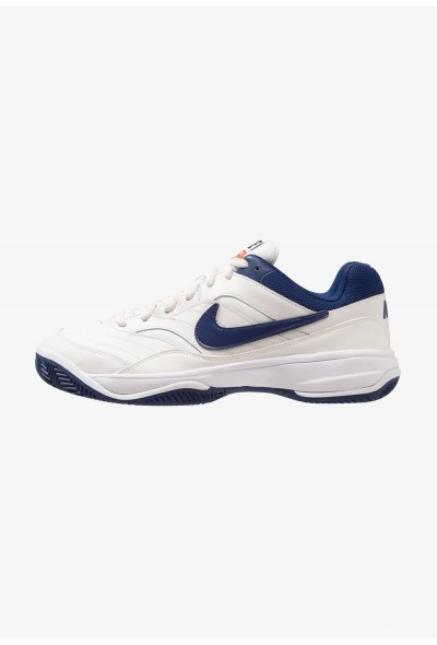 Nike COURT LITE CLAY - Chaussures de tennis sur terre battue phantom/blue void/sail/black liquidation
