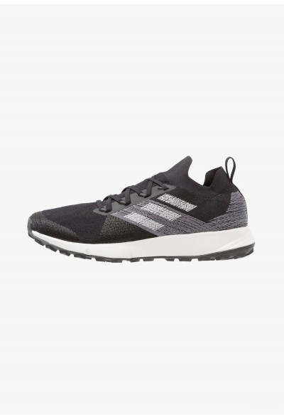 Adidas TERREX TWO PARLEY - Chaussures de marche core black/grey two/footwear white pas cher