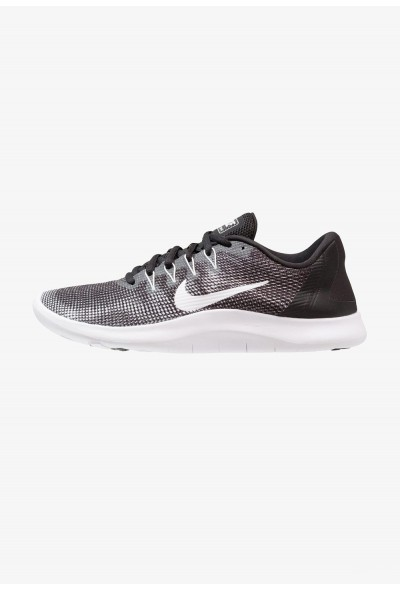 Nike FLEX 2018 RUN - Chaussures de course neutres black/white liquidation