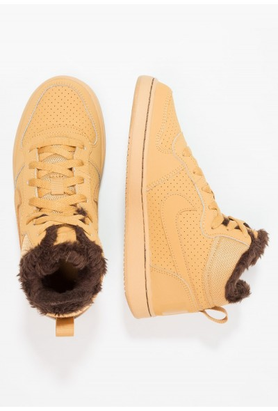 Nike COURT BOROUGH MID - Baskets montantes haystack/baroque brown liquidation