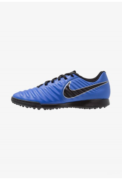 Nike LEGENDX 7 ACADEMY TF - Chaussures de foot multicrampons racer blue/black/metallic silver liquidation