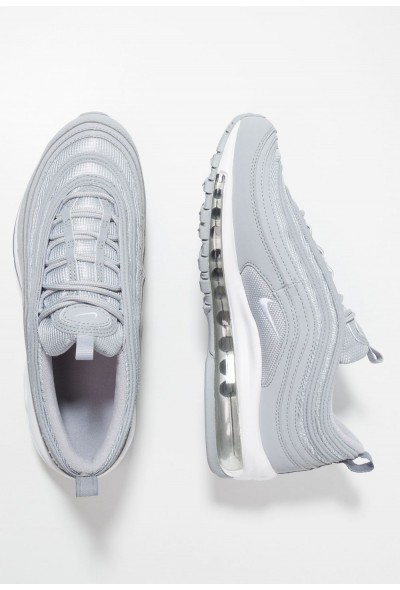 Nike AIR MAX 97 - Baskets basses wolf grey/white/metallic silver liquidation