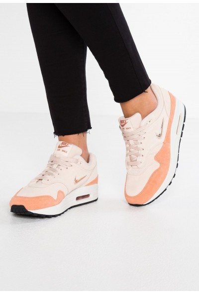 Nike AIR MAX 1 - Baskets basses guava ice/metallic red bronze/terra blush/summit white liquidation